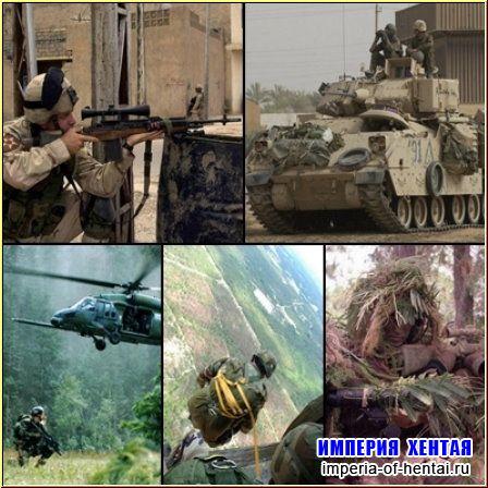 Война и оружие - обои